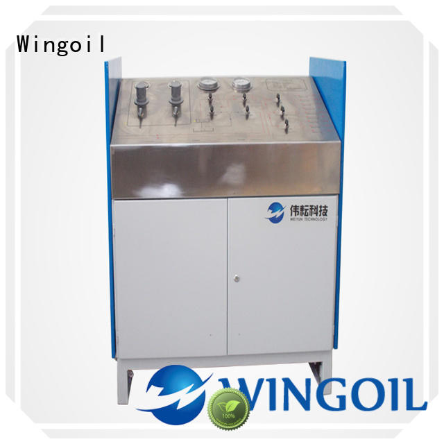 Wingoil High-quality hose pressure testing equipment Supply For Gas Industry