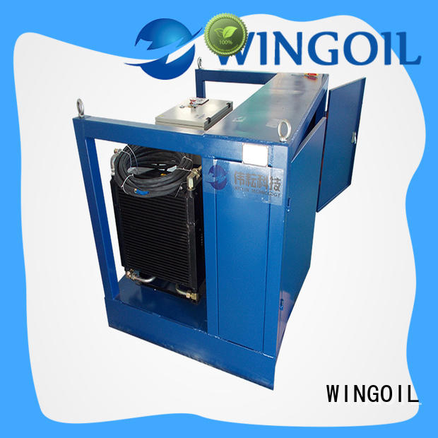 Wingoil Safety duct pressure testing equipment infinitely For Gas Industry