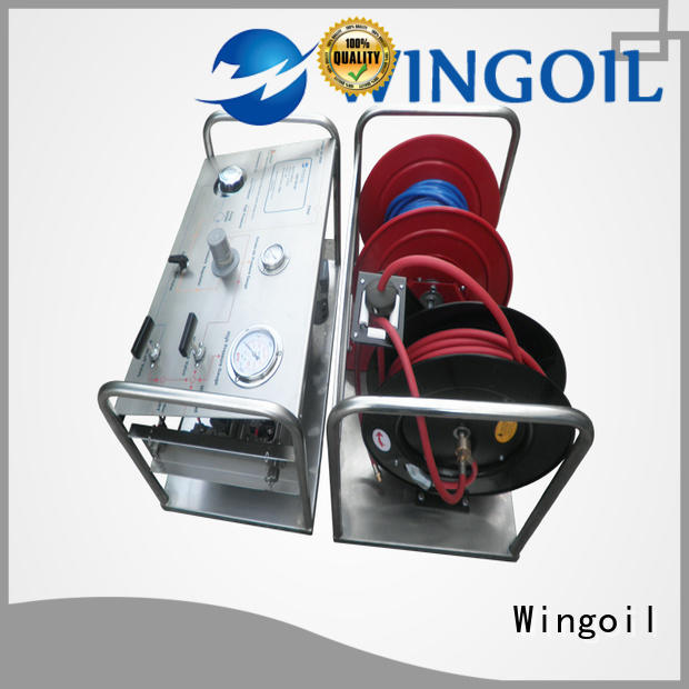 Wingoil hydrostatic water test pump widely used for offshore