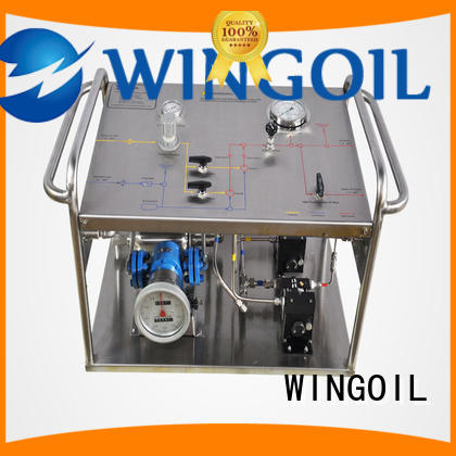 hydrostatic electric hydrostatic test pump widely used For Oil Industry