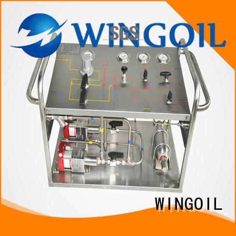 Wingoil hand test pump for business For Gas Industry