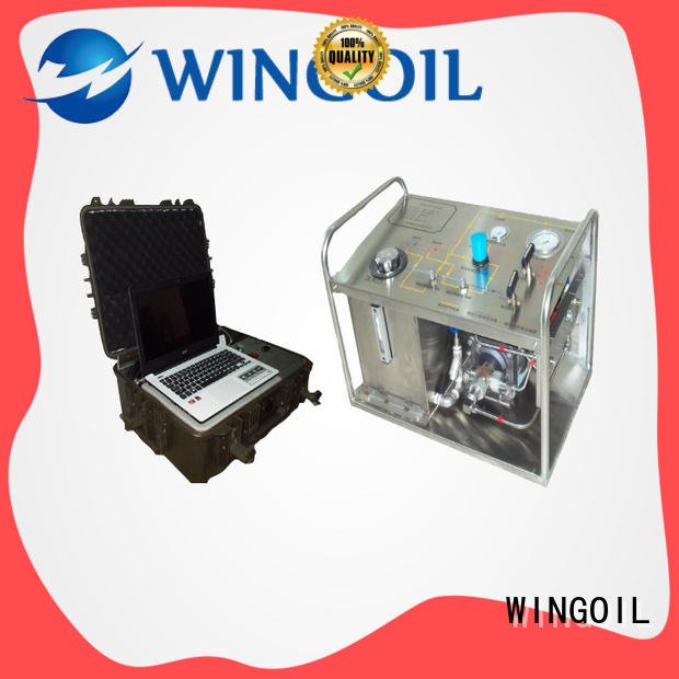 Wingoil hydrostatic hydro test pump supplier in saudi arabia infinitely for onshore