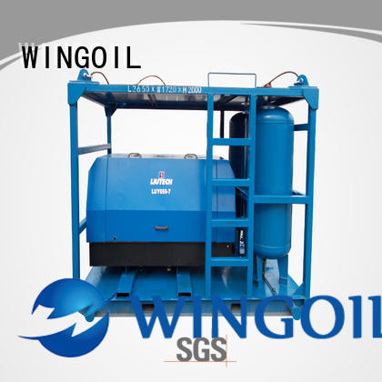 popular nitrogen pressure testing equipment in high-pressure for offshore