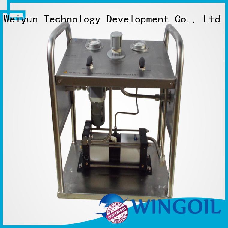 Custom used hydrostatic testing equipment Supply For Gas Industry