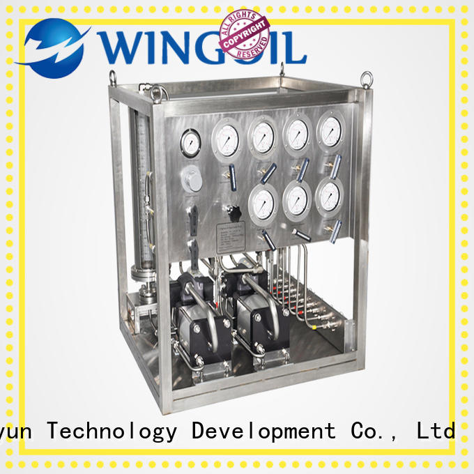 Wingoil chemical Chemical Injection System widely used for offshore
