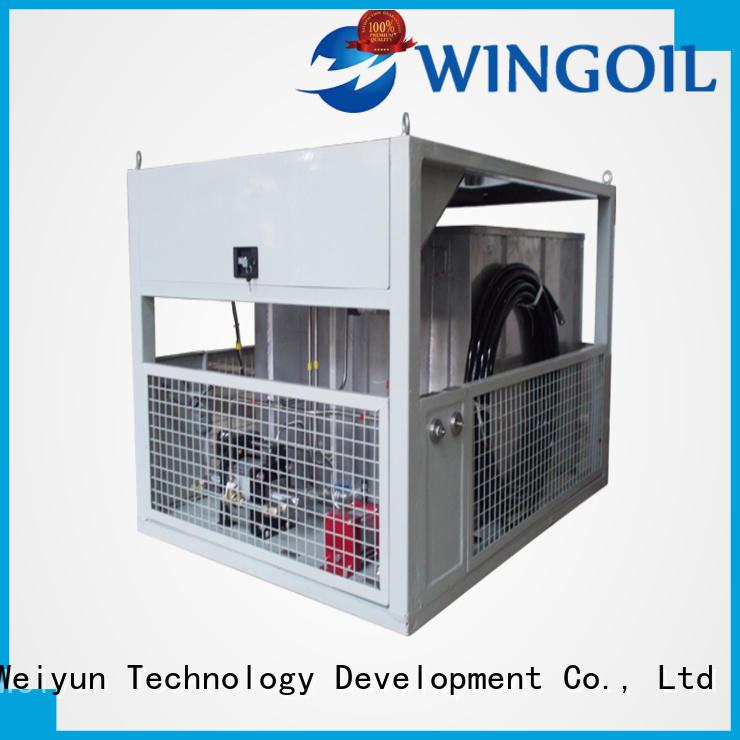 Wingoil popular tube pressure testing equipment in high-pressure For Oil Industry