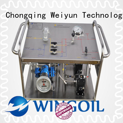 Wingoil Best hydrostatic testing requirements factory for offshore