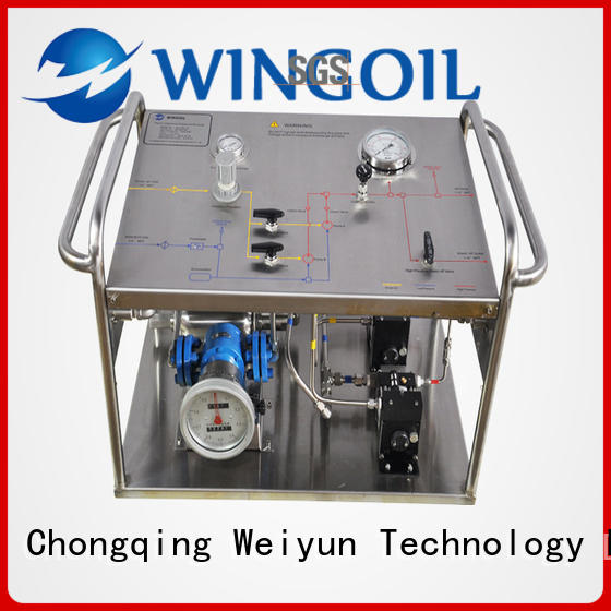 hydrostatic test hand pump With unrivaled expertise For Gas Industry