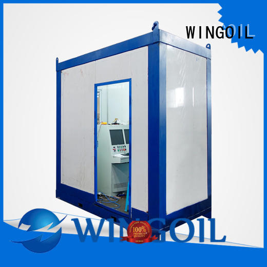 Wingoil how to do a pressure test for business for onshore