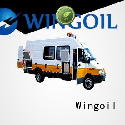 Wingoil Oilfield Pressure Trucks in high-pressure for onshore