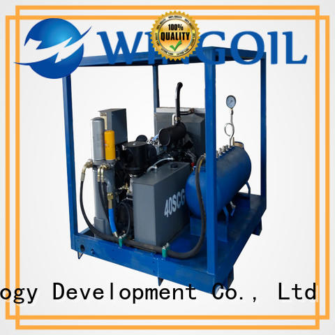 hose pressure testing equipment With Flow Meter For Gas Industry