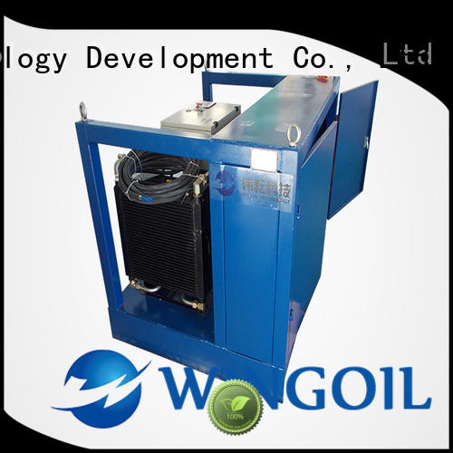 Wingoil leak test procedure widely used for onshore