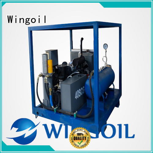pneumatic pipe pressure testing equipment With Flow Meter For Oil Industry