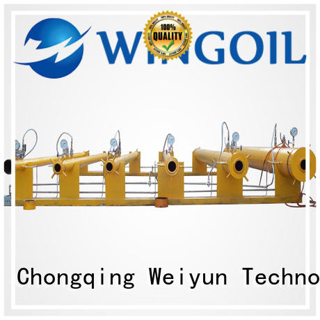 Wingoil professional hydrostatic test unit infinitely for onshore