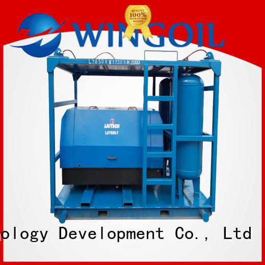 Wingoil Hydro pipe pressure testing equipment infinitely for offshore