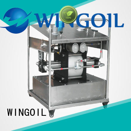 Wingoil professional electric hydrostatic test pump widely used for onshore