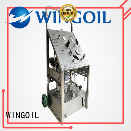 professional hydrostatic pressure pump infinitely For Gas Industry