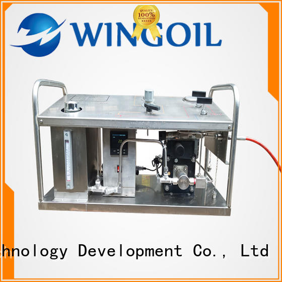 Wingoil Safety electric hydrostatic test pump in high-pressure For Gas Industry