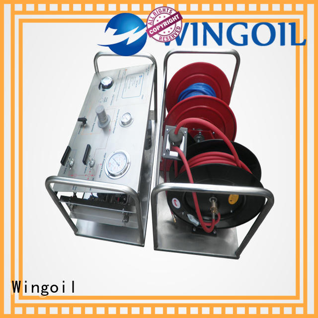 hydrostatic electric hydrostatic test pump in high-pressure for offshore