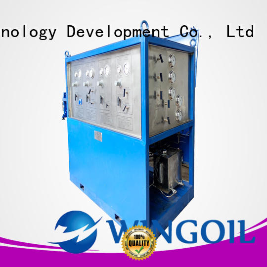 Safety hydraulic pump pressure test manufacturers For Oil Industry