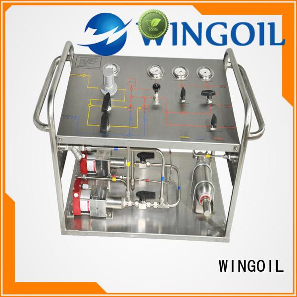 hydrostatic hydrostatic test pump infinitely For Oil Industry