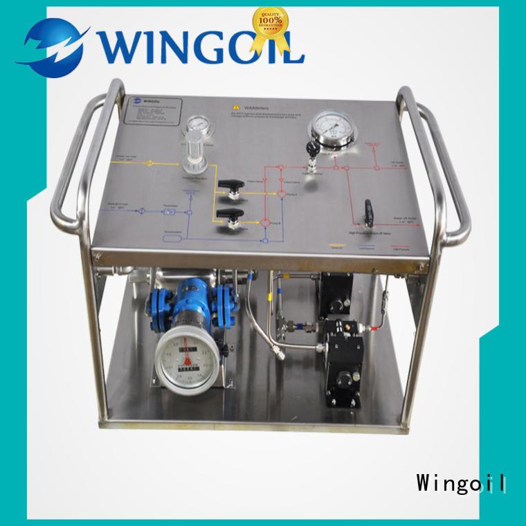 high pressure hydrostatic pressure pump infinitely For Oil Industry