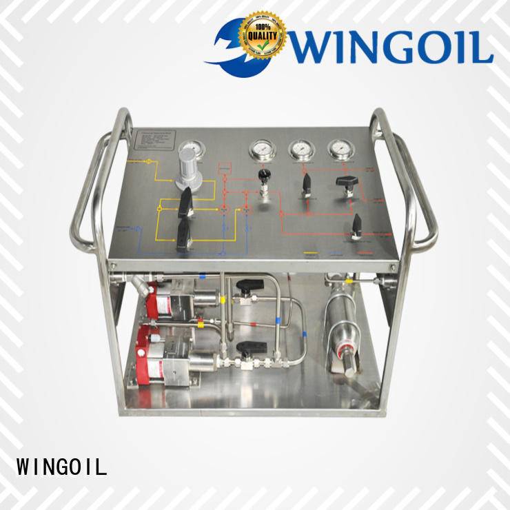 Wingoil corrosion inhibitor skid Suppliers For Gas Industry