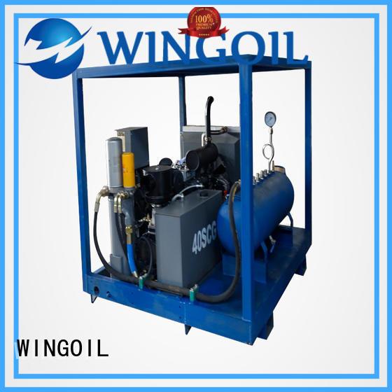 Custom water main pressure test procedure Supply For Oil Industry
