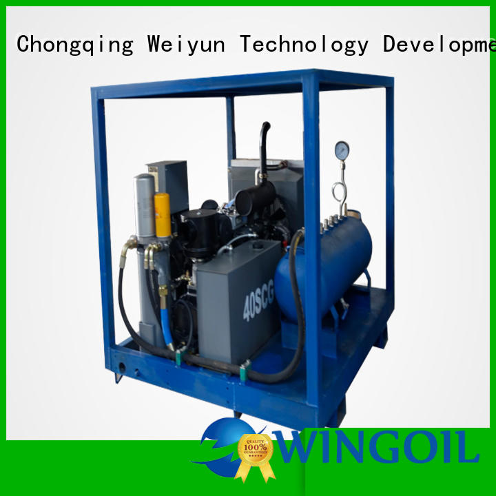 Wingoil Top portable hydrostatic test equipment Supply For Gas Industry