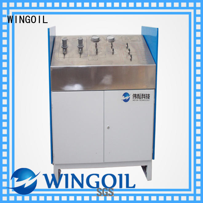 Wingoil Custom hydrostatic test procedure for pipeline With unrivaled expertise For Gas Industry