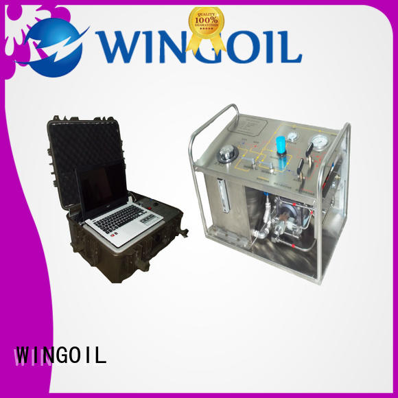 Wingoil high pressure hydrostatic hand pump With unrivaled expertise For Gas Industry