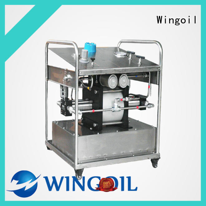 Wingoil chemical feeder company for onshore