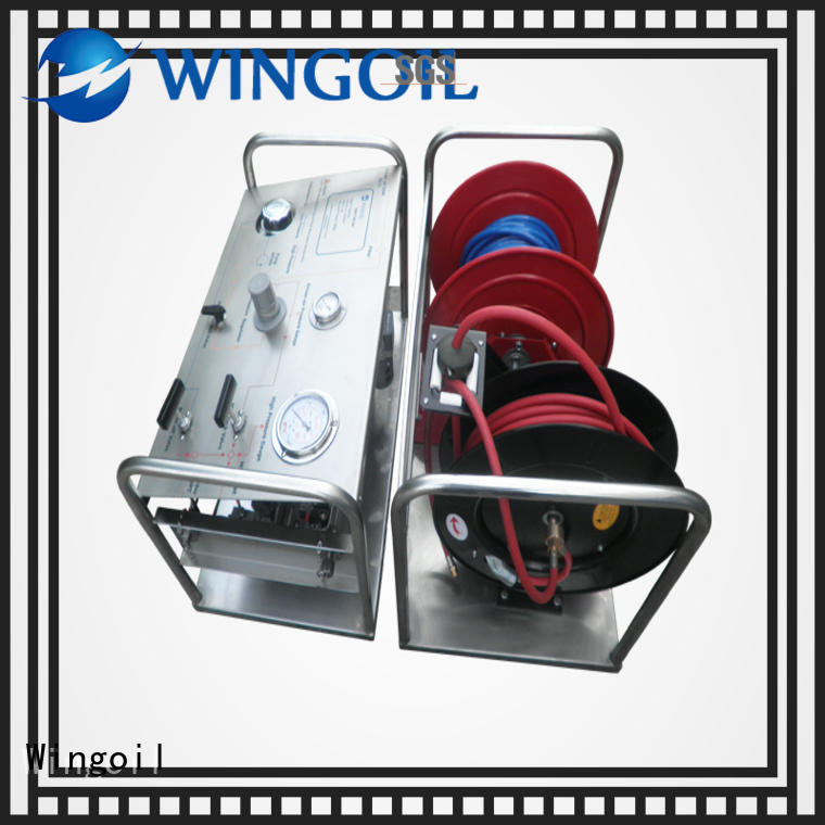 Wingoil high pressure hydrostatic pump With unrivaled expertise For Gas Industry
