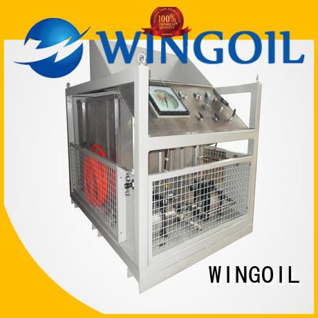 Wingoil valve pressure testing equipment Supply for offshore