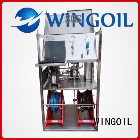 valve pressure testing equipment for onshore