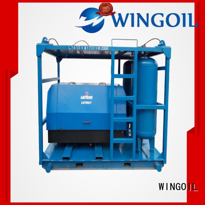 Wingoil Hydro tube pressure testing equipment infinitely For Oil Industry
