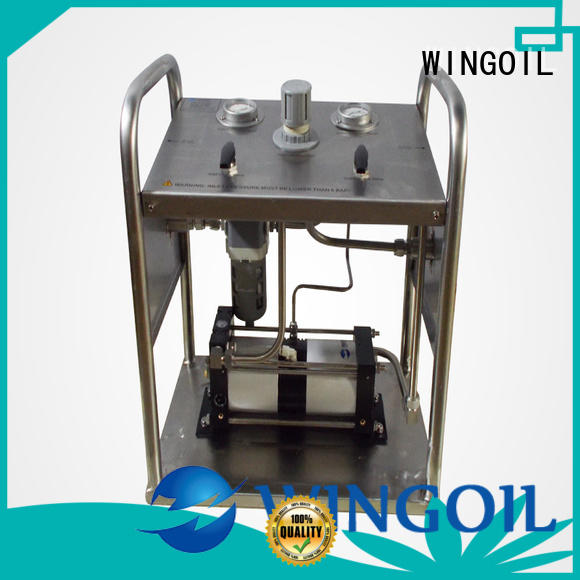 hydrostatic pressure test pump For Oil Industry
