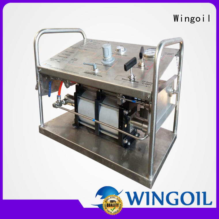Wingoil hydrotest pressure calculation for business for offshore