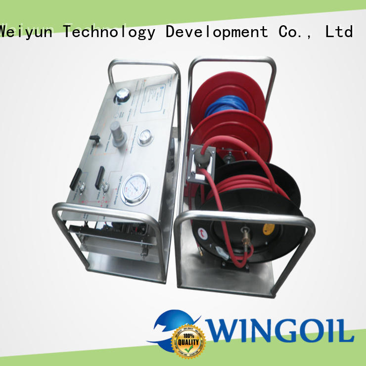 professional hydrostatic water test pump infinitely for onshore