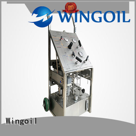 Wingoil High-quality hydrostatic test pump hire Suppliers For Gas Industry