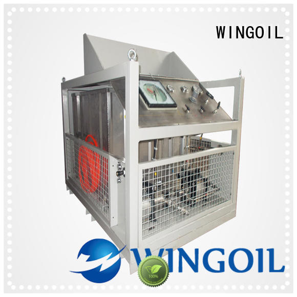 Wingoil pressure test procedure for piping system widely used for onshore