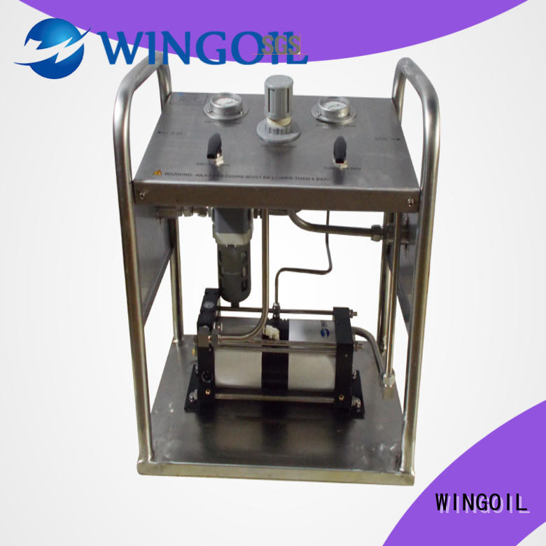 professional hydrostatic pressure pump infinitely For Oil Industry