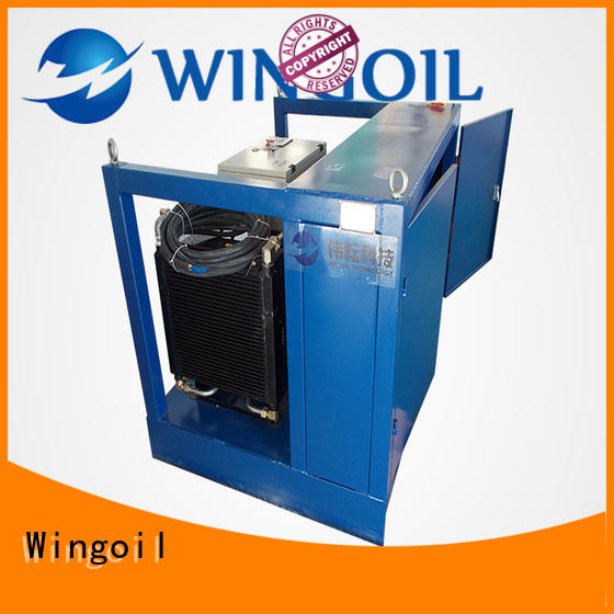 Hydro tube pressure testing equipment widely used For Gas Industry