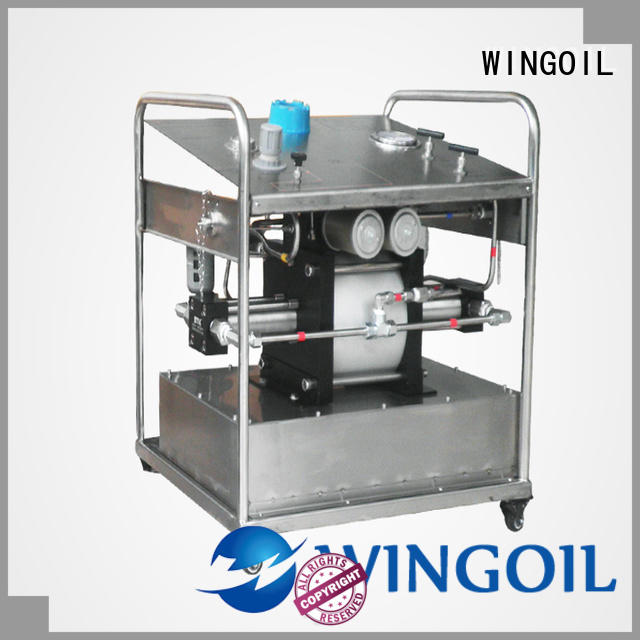 electric hydrostatic test pump infinitely for onshore