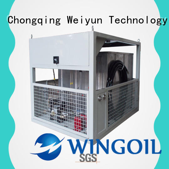 Wingoil hose pressure testing equipment With Flow Meter for onshore