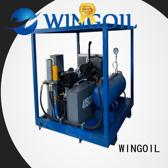 Wingoil popular water line pressure testing equipment in high-pressure For Gas Industry