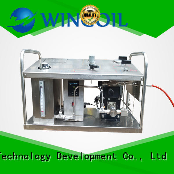 Wingoil popular portable hydrostatic test pump widely used for offshore