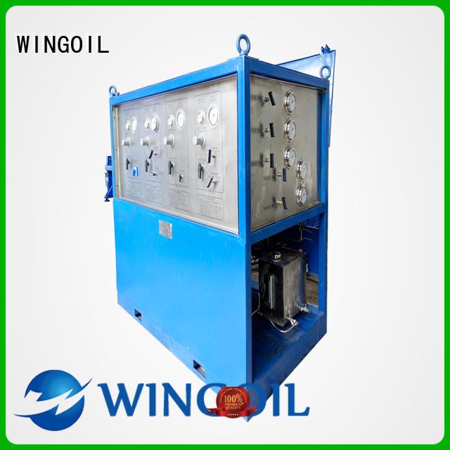 Wingoil pipe pressure testing equipment in high-pressure For Oil Industry
