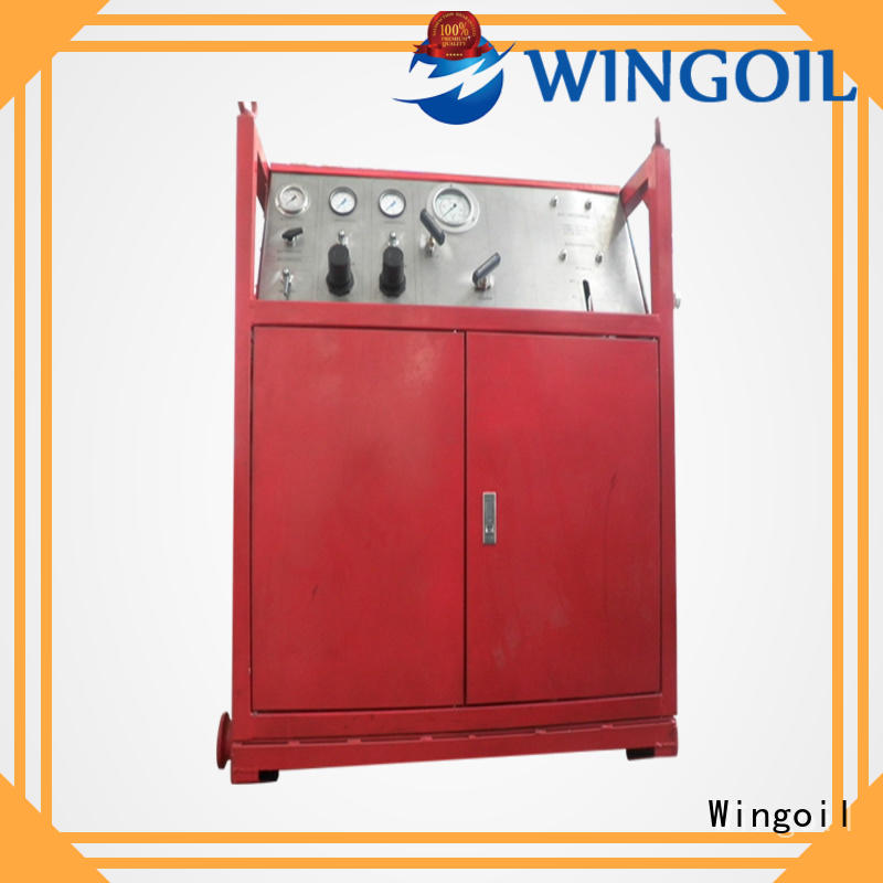 Wingoil cylinder head pressure testing equipment Supply For Oil Industry
