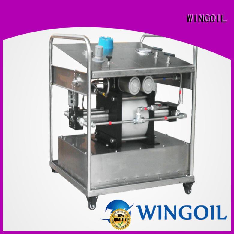 Wingoil high pressure hydrostatic pressure pump infinitely for offshore